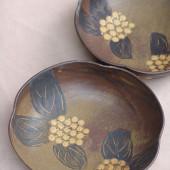 No.42 紫陽花紋 中鉢