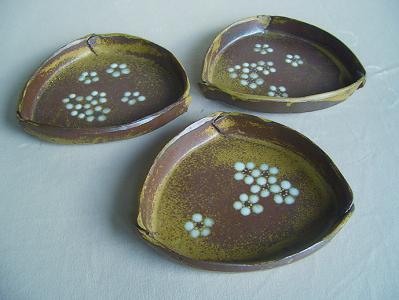 No.43 白梅紋 菓子器